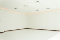 Fully fitted office - 606 square feet - ceiling fully plastered, LED lights